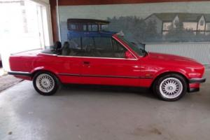1988 BMW 3 SERIES 2.5 325I CONVERTIBLE 2D AUTO 171 BHP