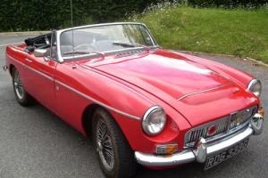 1969 (G) MGC Roadster Red with Black Leather £24,995 P/X Anything Considered