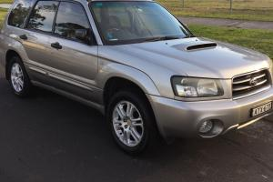 Subaru Forester XT 2004 4D Wagon Manual 2 5L Turbo Mpfi 5 Seats