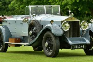 1928 Rolls-Royce Phantom 1 dual cowl tourer Photo