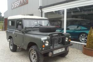 "1985 Land Rover 88"" - 4 CYL DIESEL Ex MILITARY VEHICLE"