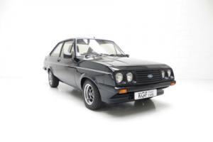 A Stunning Ford Escort Mk2 RS2000 Custom in Prime Condition