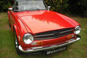 1973 Triumph TR6 2 OWNER UK MATCHING NUMBER CAR, 54,000mls, VERY ORIGINAL