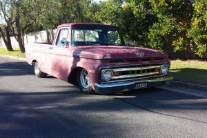 1961 Ford F100 Unibody Ratrod Patina in QLD