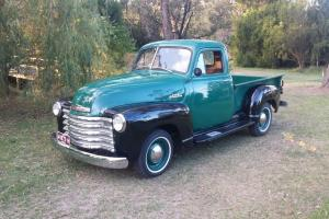 1953 Chevrolet 3100 3 Window Nice Truck Drives Great Looks Great 6CYL Manual in VIC