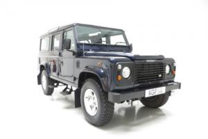 An All-Conquering Land Rover Defender 110 County TD5 with Two Owners