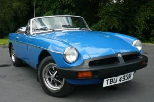 1976 MGB Roadster 4 Speed Manual 2 Door