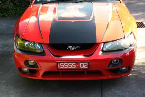Ford Mustang Cobra 2002 2D Coupe Manual 4 6L Multi Point F INJ 4 Seats in VIC
