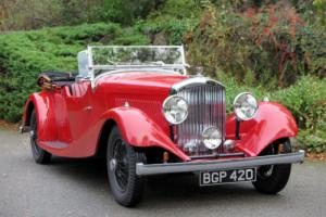 1934 Bentley 3 1/2 Ltr Tourer B130BL
