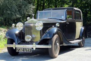 1934 Rolls-Royce 20/25 Sedanca de Ville GUB54 Photo