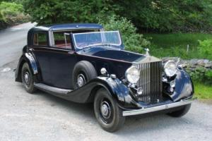 1937 Rolls-Royce Phantom III Gurney Nutting Sedanca de Ville 3BU162 Photo
