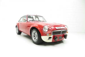 A Homage to the MGB/C GTS Sebring and Winner at Silverstone MGLive!