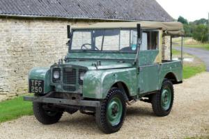 Looking For All Land Rover Series 1, 2 and 3