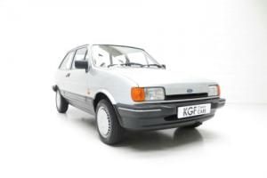 An Astonishing Ford Fiesta Mk2 1.1 Ghia with Just 22,787 Miles