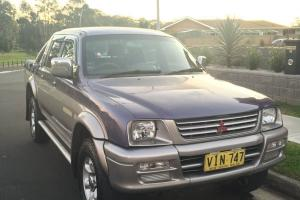 Mitsubishi Triton 1998 Manual in NSW