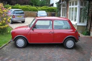 Classic Mini Mayfair 1987 only 13,500 miles  Photo