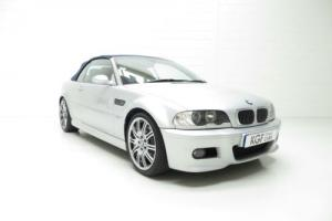 A Stunning BMW E46 M3 Convertible with 44,957 Miles and Full Service History