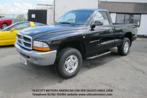 2001 DODGE DAKOTA REGULAR CAB 4X4 3.9 LITRE V6 AUTO PICKUP 40,000 MILES