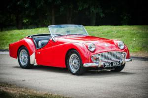 1957 Triumph TR3 Photo