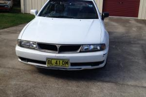 Mitsubishi Magna Advance 1999 4D Sedan Automatic 3 5L Multi Point F INJ in NSW