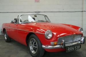 "MGB ROADSTER - OLDER RESTORATION IN ""A1"" CONDITION"