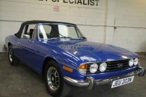 TRIUMPH STAG 3.0 V8 MANUAL O/D - GROUND UP RESTORATION !! Photo