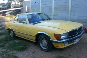 1975 Mercedes 350SL Convertible With Hardtop 3 5 Litre V8 Auto in QLD