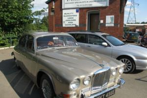 1967 Jaguar 420 4.2 Auto Silversand Colour,