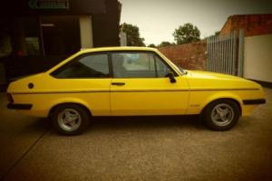 1978 T FORD ESCORT 2.1 RS 2000 2D