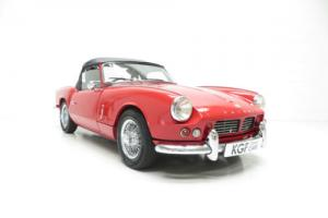 A Truly Beautiful 1965 Triumph Spitfire Mk2 with Same Owner for 45 Years!