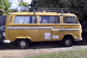 VW Kombi 1972 Campmobile