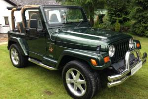 ICONIC JEEP WRANGLER SAHARA 4.0 AUTOMATIC CUSTOM 4X4 SHOW CAR