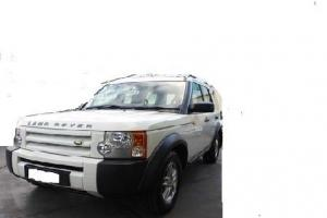 Land Rover Disco 3 V6 TD 2008 White Black in VIC