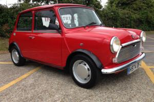 Classic Rover Mini City e. 1000cc. Stunning low mileage example. 30k from new.
