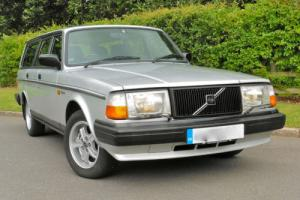 1990/H Volvo 240 2.3 GLT ESTATE AUTO with 2 DR OWNERS FROM NEW & FVolvoSH