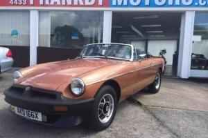 MGB Roadster 1.8 LE Photo