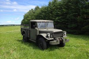 Dodge : Other Pickups 3/4 ton Military cargo pick-up