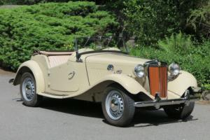 1953 LHD MG TD Open Sports Tourer