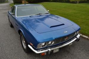 1972 Aston Martin DBS V-8 original left hand drive car automatic