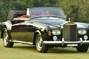 1964 Rolls Royce Silver Cloud 3 Convertible.