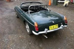 1966 MG B Convertible in NSW