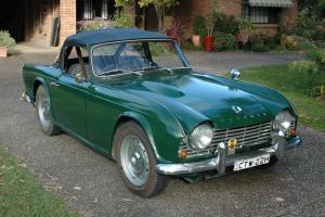 Triumph TR4 in NSW Photo