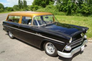 FORD RANCH WAGON CUSTOM LONG ROOF 1955 AMERICAN