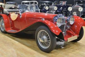 1937 Jaguar SS100 3 1/2 Lirtre Rebody. Photo