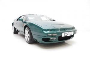 A Formidable and Ferocious Lotus Esprit V8 GT with Just 34,636 Miles from New.