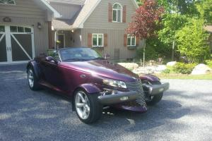Plymouth : Prowler ROADSTER LOW MILES 5300