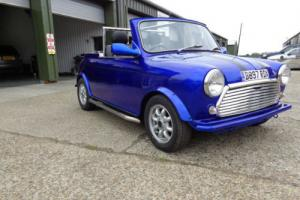 classic modified mini convertible 1985 1000cc dry stored for 12yrs