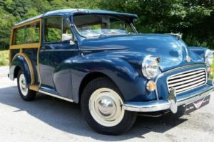 MORRIS MINOR 1000, 1275cc, 5 speed box, new wood and interior must see!