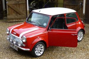 1997 ROVER MINI COOPER RED