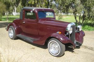 1933 Chevrolet Coupe Delux HOT ROD Chev 350 Very Rare Vehicle Minor Damaged in NSW